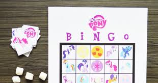 Small Picture Free Printable My Little Pony Bingo artsy fartsy mama