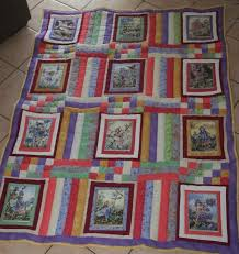 165 best panel quilts images on Pinterest | Audrey hepburn ... & Quilts Made with Panels | Flower Fairy Panel Quilt | Christa Quilts! Adamdwight.com
