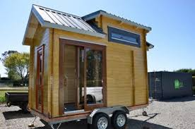 Small Picture Wooden TINY HOUSE on Wheels Trade Me