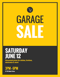 Simple Event Flyers Black Yellow Flat Event Poster Idea Venngage Poster Examples