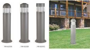 garden lighting bollards. Garden Bollard Lights Outdoor Light Led Lawn Lamp Landscape Path Lighting Bollards