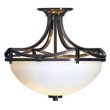oil rubbed bronze ceiling lights unique oil rubbed bronze semi flush ceiling light 44 in mazon