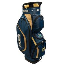 under armour golf bag. notre dame fighting irish clubhouse golf cart bag under armour
