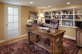 french doors for home office. Traditional Home Office With French Doors, Hardwood Floors, Built-in Bookshelf, Oriental Doors For