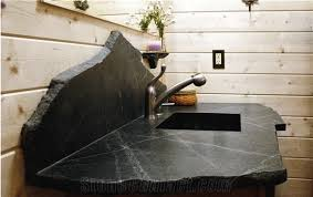 black minas soapstone bathroom top custom design