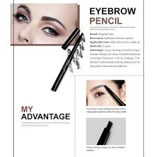 makeup set 3d deep black maa black liquid eyeliner cosmetics kits 12 color matte eye shadow palette eyebrow enhancer pencil in makeup sets from beauty