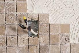 Steps For Sealing A Natural Stone Tile Backsplash Home Guides SF Custom How To Install Backsplash Tile Sheets Painting