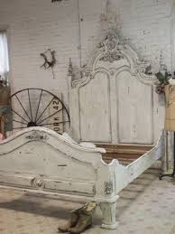 Distressed White Bed - Ideas on Foter