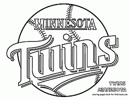 Mn Vikings Coloring Pages Printable Twins Coloring Pages