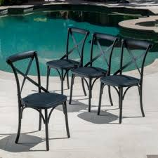 most durable outdoor dining furniture. kayleigh patio dining chair (set of 4) most durable outdoor furniture e