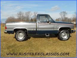 86 K10 Short Bed SWB Silverado 4x4 1986 Chevy Blue Silver