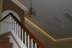crown molding lighting. Vaulted Crown With Rope Lighting Adds A Nice Touch, Especially At Night. For More Examples Of Our Work, Please Visit Website! Www.tflarkin.com Molding I