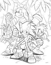 Small Picture Sonic Boom Coloring Pages Many Interesting Cliparts