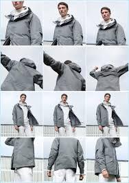 uniqlo u men s blocktech parka and cashmere blend turtleneck sweater