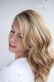 hair romance soft loose waves hair tutorial