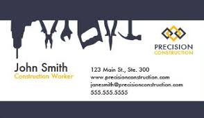 cards templates construction business cards design custom business cards for free