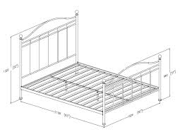 standard bed sizes chart. Enamour Standard Bed Sizes Chart O