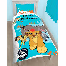 the lion guard pridelands single duvet cover set by lion guard for homeware in new zealand