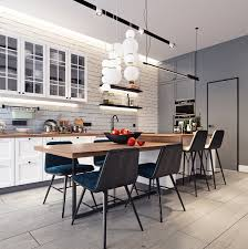 Kitchen Accent Wall 5 Beautiful Studio Apartments Fiyart