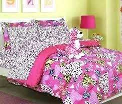cheetah print comforter sets leopard