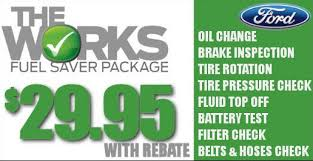 ford works the works fuel saver package