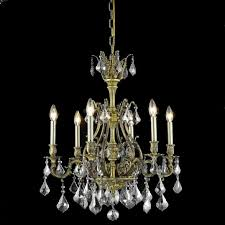 elegant 9606d24ab ss rc monarch antique bronze 6 light silver shade crystal chandelier loading zoom