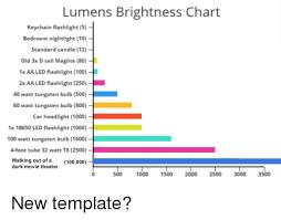 Lumens Brightness Chart Keychain Flashlight 5 Bedroom