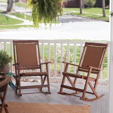 outdoor rocking chairs pictures for your inspirations open front porch decoration with stained solid wood