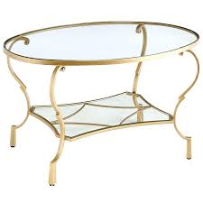 creative glass top oval coffee table maison glass top oval coffee table by greyson living