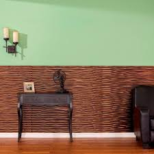 fasade dunes horizontal 96 in x 48 in decorative wall panel in copper fantasy