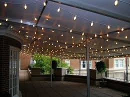 outside wedding lighting ideas. use c7 or c9 tradtional christmas lights to light your patio tent in an outdoor wedding lightingoutdoor lightinglighting ideasxmas outside lighting ideas