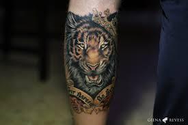 тигр на руке Tottem