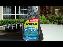 rain x automotive glass cleaner review and test results on my 1991 honda prelude si you