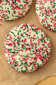 holiday sugar cookies with sprinkles.  Holiday Christmassprinklecookies Sugar Cookies  On Holiday Cookies With Sprinkles