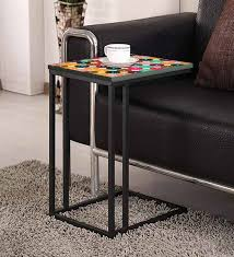 express coffee c end table in brown