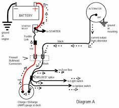 chevy one wire alternator diagram wiring diagram and schematic gm 4 wire alternator wiring diagram eljac