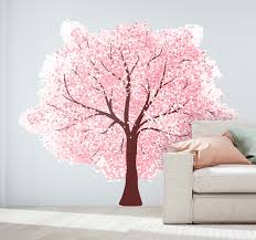 cherry blossom wall sticker
