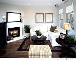 Corner Fireplace Living Room Furniture Placement Corner Of Room