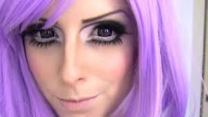 tutorial anese anime makeup anime eye makeup open eyes how to get