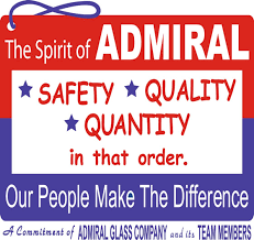 admiral glass safety quality