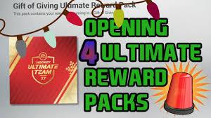 Christmas Lights Nhl 18 Opening Up 4 Christmas Light Reward Packs Nhl 17 Packs