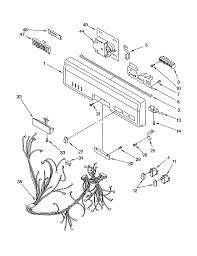 P0101030 00003 kitchenaid dishwasher wiring