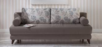 stella image gray sofa bed in fabric by