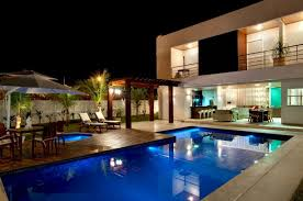 luxury home lighting. Luxury Homes Ideas Trendir S Home Transformed Into Modern Latest Mansions With Pools Cool House Fresh Swimming Pool Lighting V