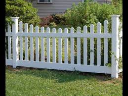 New England Picket Fence Vinyl Penn Fencing