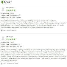 dallas landscape lighting reviews on houzz