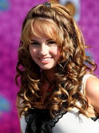 Nice Hairstyle For Curly Hair collection of loose curls hairstyle for medium hair trends for 7267 by stevesalt.us