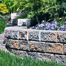 image of rock retaining wall ideas