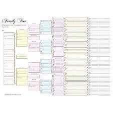Family Tree Charts Amazon Co Uk