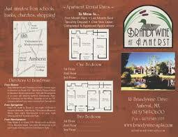 apartment brochure design. Brandywine Apartments Brochure Apartment Design